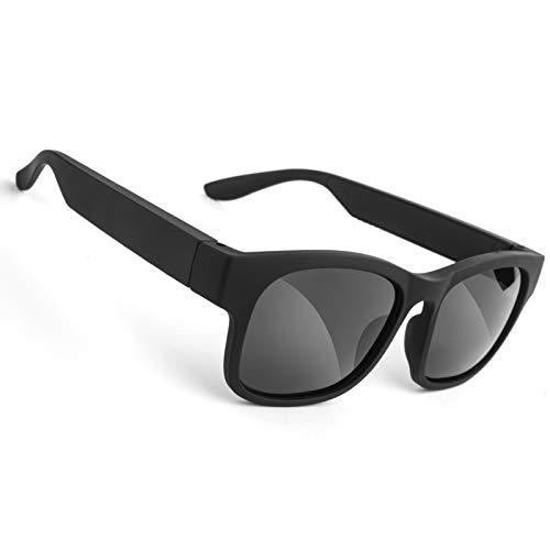 GELETE - Gafas de Sol inalámbricas con Bluetooth, para Hombres y Mujeres, con Lentes polarizadas, Resistentesal Agua IP7, para conectar teléfonos móviles y tabletas
