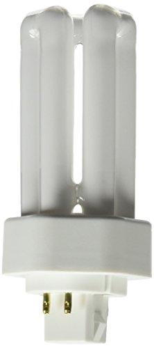 Osram Sylvania 2087618W Triple tubo fluorescente compacto (amalgama lámpara con base de 4pines, 3000K temperatura de color, 82CRI, 4.4-inch