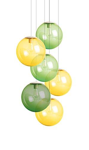 Fatboy® Spheremaker 6er Hängelampe 3X Yellow / 2X Light Green / 1X Green