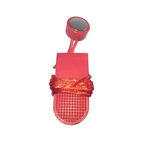 Chuanfeng 2PCS Laufband Sicherheitsschlüssel, Universal Laufband Magnet Sicherheitsschloss Fitness Kit Für Alle Laufbänder