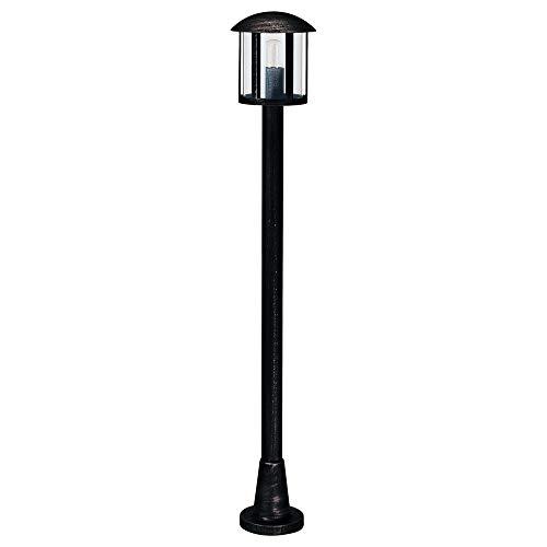 Albert 604139 Socket lampe, E27, 116 cm, aluminium noir