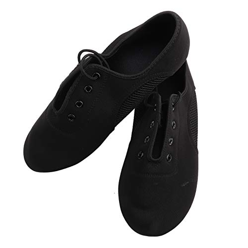 FECAMOS Forros Transpirables Zapatos de Baile de Material Fino de Moda y clásicos Zapatos de Baile, para Mujeres y Hombres(44)
