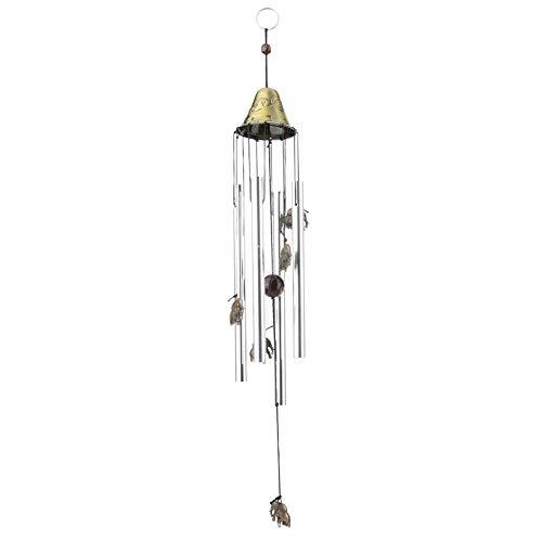 zcyg Campana de viento para el hogar, campanillas de viento para el hogar, colgante de jardín, ventana, decoración de cumpleaños C08