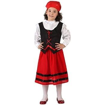 Atosa - Pastora roja niña 10-12 años: Amazon.es: Juguetes y juegos