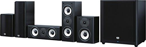 Onkyo SKS-HT978THX 5.1-Kanal Lautsprechersystem (THX, Zwei-Wege System, 130 Watt Belastbarkeit, aktiver Subwoofer 125 Watt) schwarz