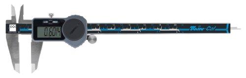 "Brown & Sharpe 00590094 Twin-Cal IP40 Digital Caliper, 0 to 8"" Range, 0.0005"" Resolution, Square Depth Rod, Wireless Data Port"