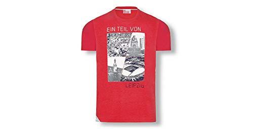 RB Leipzig-medlem t-shirt röd Small