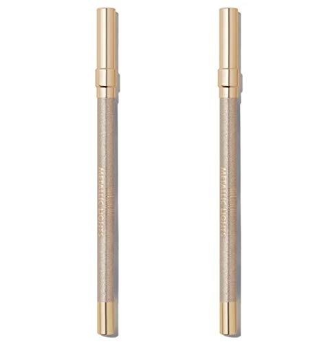 Pack of 2 Milani Metallic Lights Foil Eyeliner Pencil, Starlight 01
