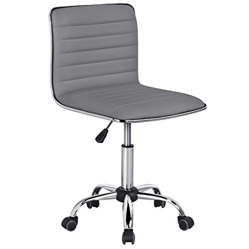 Yaheetech Bürostuhl Drehstuhl Chefsessel Schreibtischstuhl Kunstleder Ergonomischer Bürodrehstuhl höhenverstellbar