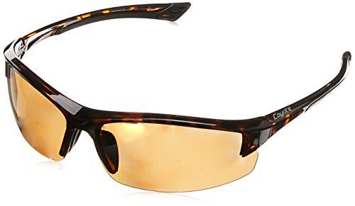 Coyote Eyewear Polarized Reader Sunglasses, Tortoise, Copper +2.00