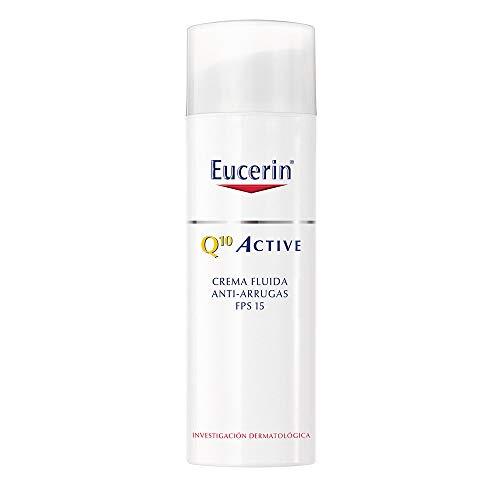 Eucerin Q10 Crema facial ligera anti arrugas de día FPS 15+, 50ml