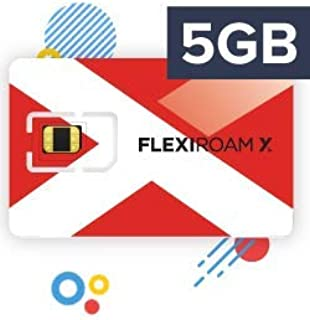 FLEXIROAM International Worldwide Travel SIM Card Microchip Sticker - 2GB - Valid for 100 Days - Use Roaming Internet in Over 150+ Countries Without Changing Your SIM Card