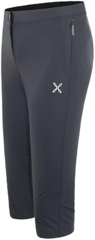 Montura Strech 3 Pants 3 4 Woman schwarz