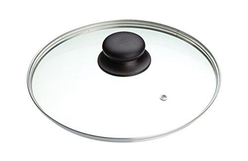 KitchenCraft MasterClass Glasstopfdeckel 20 Zentimeter, Universal Entworfen Für Alle 20 Zentimeter (8 Zoll) Kochtöpfe und Bratpfannen