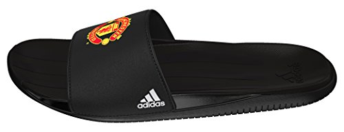adidas MUFC Slide, Chanclas Hombre, Negro (Negbas/Ftwbla/Negbas), 40 2/3
