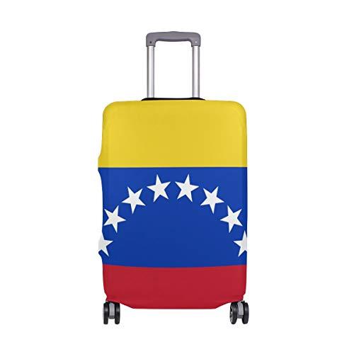 FANTAZIO - Funda Protectora para Maleta, diseño de la Bandera de Venezuela