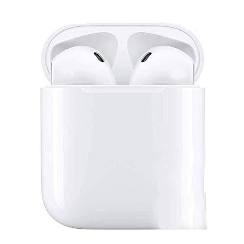 Cuffie Bluetooth 5, Auricolari Bluetooth Sport Wireless Stereo Auricolari wireless nell'orecchio con custodia di ricarica Microfono Cuffie Hi-Fi leggere per Android/iPhone/Samsung