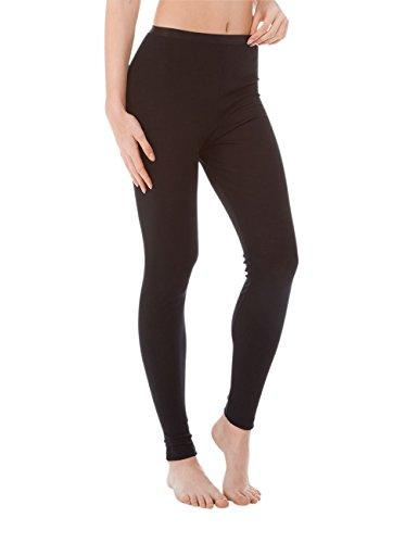 CALIDA True Confidence Damen Leggings Bas Thermique, Noir (WS 996), XS Femme
