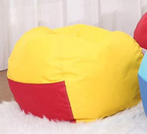 Quwei Children Pocket Lazy Comfortable Sofa Small Sofa Chair Baby Sofa Soft sofa (Couverture de canapé, jaune)