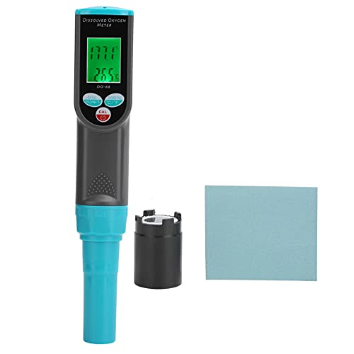 Dissolved Oxygen Tester, Automatic Temperature Compensatio DO Tester DO Analyzer Water Quality Tester for Agricultural Water for Drinking Water