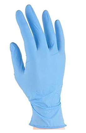 Guantes desechables, de nitrilo, en color negro AQL 1.5, talla S, resistentes para tatuadores (100 guantes)