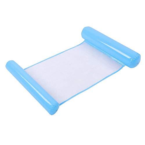 Zyyini Opblaasbare zwemmer, zwemmen, opblaasbare matras, party, zwembad, opblaasbaar speelgoed voor volwassenen en kinderen, blauw