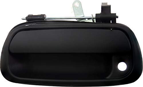 APDTY 91978 Rear Tailgate Handle Smooth Black