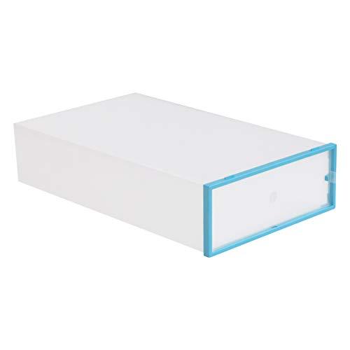 Holibanna Boîte de Rangement pour Chaussures Organisateur de Chaussures en Plastique Transparent Conteneur à Chaussures Pliable Épais