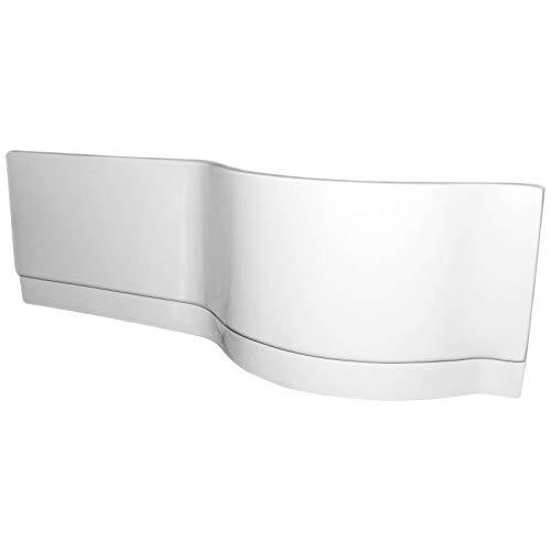 Schulte Schürze für Badewanne, 170 cm, Sanitär-Acryl alpin-weiß, passend zu Wanne Version rechts