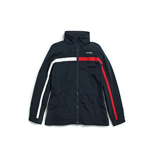 Tommy Hilfiger Damen Regatta Jacket with Magnetic Zipper Shell-Jacke, Masters Navy, X-Small