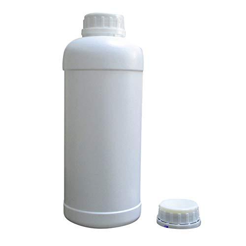 Man9Han1Qxi 1000 ml Kunststoff Waschmittel Behälter Flüssigseife Flasche Leere Lotion Glas Nachfüllbare Flasche White