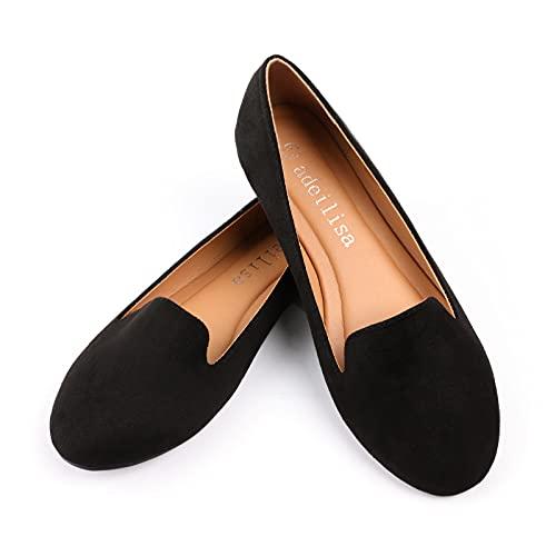 adeilisa Lightweight Round Toe Ballet Flats
