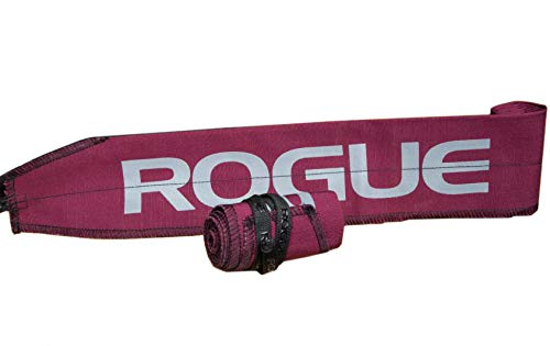 ROGUE FITNESS ローグ リストラップ 手首固定 ペア 長さ89cm×幅7.3cm (Maroon) [並行輸入品]