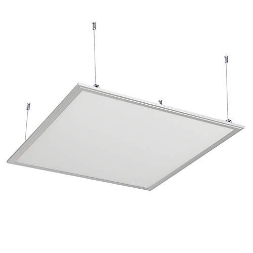 Pannello sospensione pendente LED 48W lampada 60x60 cm 4500lm quadrato 220V