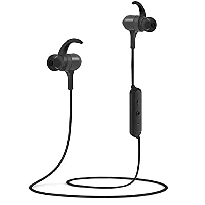 Bluetooth Headphones,IPX7 Waterproof Sports Wireless Earphones, Bluetooth 5.0 Fast Pairing, 8-10 Hours Playtime,CVC 8.0 Noise Cancelling Mic,Magnetic Earbuds for Workout Running Gym from Kovebble