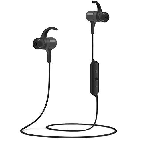 Słuchawki Bluetooth, wodoodporne sportowe bezprzewodowe słuchawki bezprzewodowe IPX7, szybkie parowanie Bluetooth 5.0, 8-10 godzin odtwarzania, mikrofon z redukcją szumów CVC 8.0, magnetyczne wkładki douszne do treningu biegania siłowni