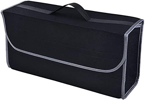 OUMIFA Organizador del Tronco del automóvil Caja de Almacenamiento de Fieltro Suave del Coche Caja de contenedor de Carga Bolsa de Tronco de la Pendiente Limpiar el Soporte Multi-Bag