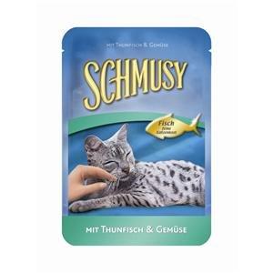 Schmusy | Thunfisch Pur in Jelly | 24 x 100 g