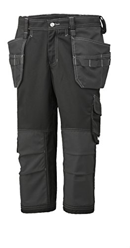 Helly Hansen Piraten werkbroek West Ham Construction Pirate Pant 76422 korte 3/4 broek 44 EU zwart