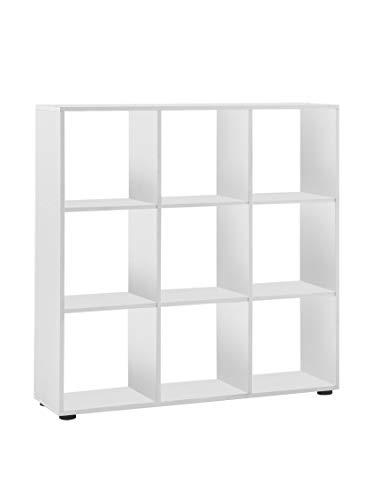 FMD furniture Raumteiler, Melaminharz beschichtete Spanplatte, ca. 104,5 x 108,5 x 33 cm