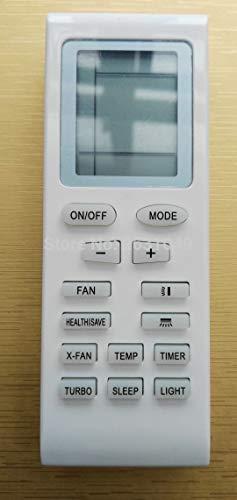 Calvas Replacement For GREE Mcquay LENNOX TRANE Electrolux Aermec Air Conditioner Remote Control YB1F2 YB1F YB1FA Yb1faf Yb1f2f