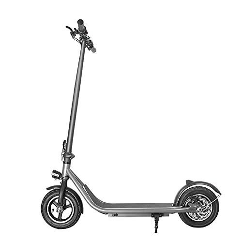 PHASFBJ Patinete eléctrico de Gran Alcance,Ultraportátil,Scooter eléctrico Plegable para Adultos,Motor de 350...