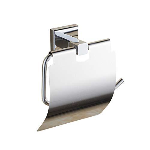 LINA Porte-Papier hygiénique, Porte-Serviettes en Papier chromé, Porte-Rouleau, Porte-Rouleau de Papier hygiénique