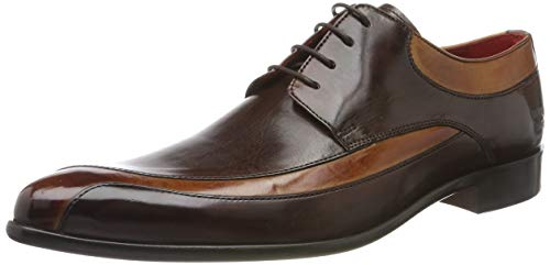 MELVIN & HAMILTON MH HAND MADE SHOES OF CLASS Toni 36, Zapatos de Cordones Derby para Hombre