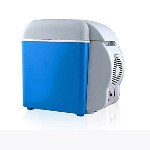 DKEE Mini Nevera Caja Portátil De 7.5 litros for Calentar Y Enfriar Automóviles Refrigerador for Mini Automóviles Mini Refrigerador for Exteriores De Autos Refrigerador Pequeño