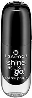 Esencia – Esmalte de uñas – Shine last & go! Gel Nail Polish - 46 negro is back