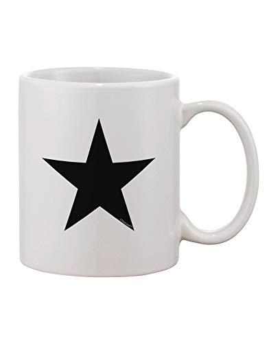 N\A Taza de café con Estampado de Estrella Negra