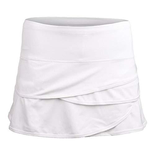Lucky In Love Scalloped Skirt-White