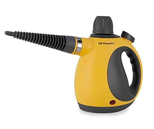 Orbegozo LV 3580 - Vaporetino, depósito 350 ml, calentamiento rápido, vapor continuo 8-10 minutos, presión 3,2 bar, 9 accesorios, 1050 W