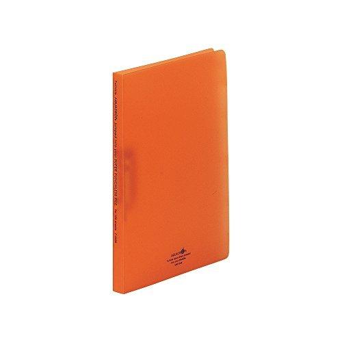 リヒトラブ パンチレスファイル A4S 橙 F-5030-4 00007709 【まとめ買い10冊セット】